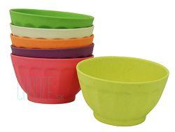 Detské EKO misky Sweet Fortune Bowls XL - Rainbow colours