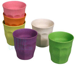 Detské EKO poháriky Cupful Of Colour M - Rainbow colours