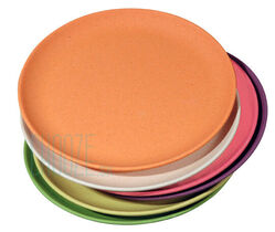 Detské EKO tanieriky Take a Cake - Rainbow colours
