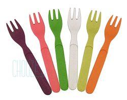 Detské EKO vidličky Forkful Of Colour - Rainbow colours