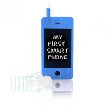 Detský drevený mobil I-Woody - Blue