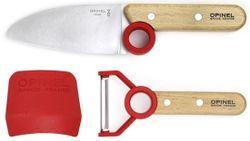 Detský nôž + škraka + chránič Le Petit Chef - set