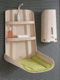 Prebaľovací pult byBO design Nathi - Bielený buk