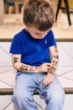 Dočasné tetovačky Kresky: Autíčkové