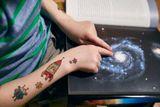 Dočasné tetovačky Kresky - Vesmírne