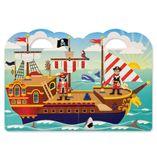 Znovupoužiteľné nálepky Reusable Puffy Stickers: Pirate