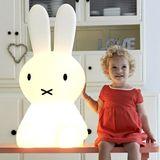 Mr Maria Detská LED lampa Miffy XL - biely zajačik