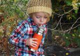 Pura TERMO nerezová fľaša s náustkom 260ml Ružovobiela