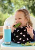 Pura TERMO nerezová fľaša s náustkom 260ml Zelená