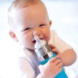Pura nerezová dojčenská fľaša 325ml Ružová