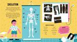 Vyškrabovacia kniha: Ľudské telo