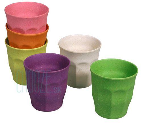 Detské bambusové poháriky Zuperzozial Rainbow