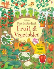 First Sticker Book: Fruit and Vegetables