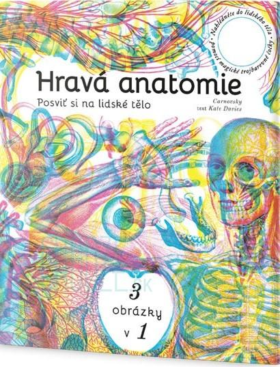 7062fccfc Kniha: Hravá anatomie - Posviť si na lidské tělo │ Chooze.sk