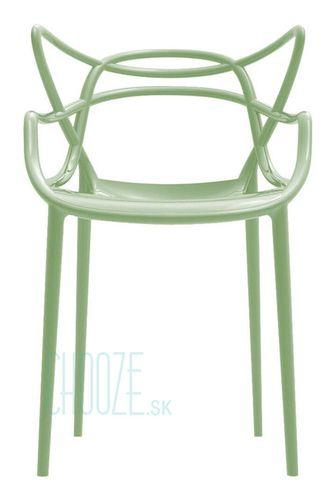 Stolička Masters - 14 sage green