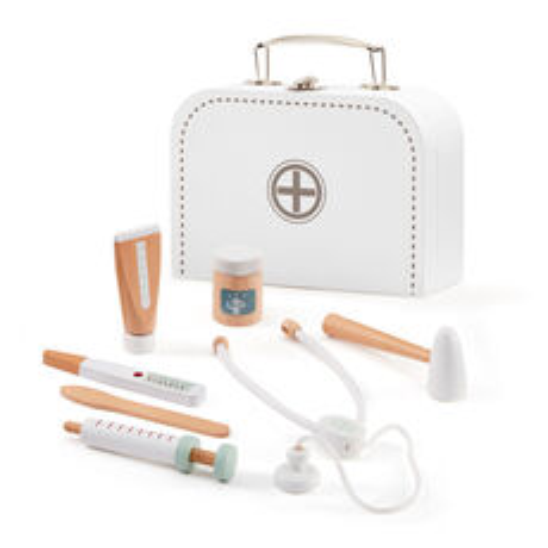 Kids Concept Doktorský kufrík pre deti: biely