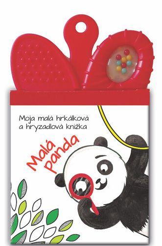 Moja malá hrkálková a hryzadlová knižka: Malá panda