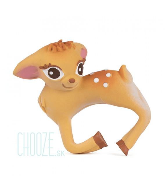 Kaučukové hryzátko Olive The Deer