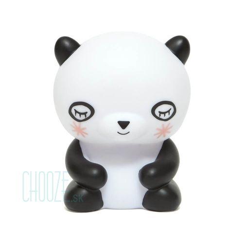 Detská nočná LED lampa Panda Bear - biela panda