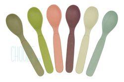 Detské EKO lyžičky Spoonful of Colour - Dawn colours