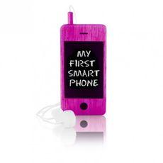 Detský drevený mobil I-Woody - Pink