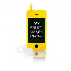 Detský drevený mobil I-Woody - Yellow