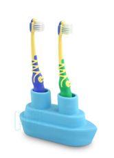 Držiak na zubné kefky Boat - Blue
