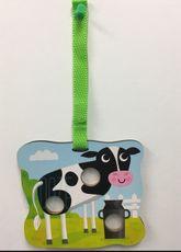 Pukacia hračka - Poke a Dot! Poppers - Cow Family