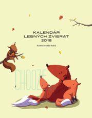 Kalendár lesných zvierat - 2018