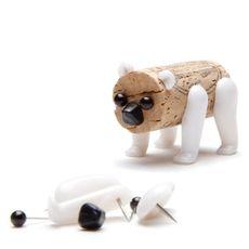 Korkové zvieratko Corkers - Bear