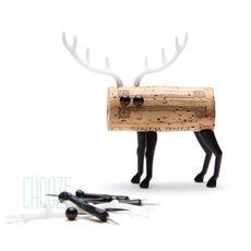 Korkové zvieratko Corkers - Deer