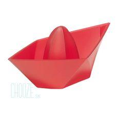 Lis na cistrusy Ahoi - Transparent red