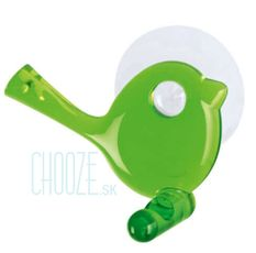 Vešiak na uteráky Pi:p - Transparent green