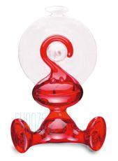 Vešiak na uteráky Moritz - Transparent red