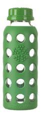 Sklenená fľaša Lifefactory 250ml šroubovací uzáver - Grass green