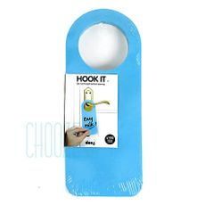 Memo blok na dvere Hook it - Blue