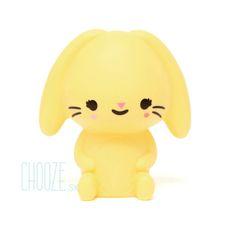 Nočná lampa Bunny - Yellow