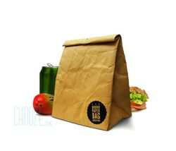 Dóza na potraviny Brown Paper Bag