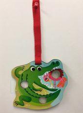 Pukacia hračka - Poke a Dot! Poppers - Crocodile