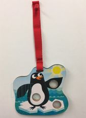 Pukacia hračka - Poke a Dot! Poppers - Penguin