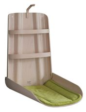 Prebaľovací pult Nathi - Bielený buk