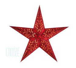 Vianočná hviezda Geeta M - červená