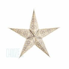 Vianočná hviezda Mono S - biela