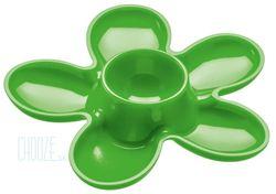 Stojan na vajíčko A-pril - Solid green