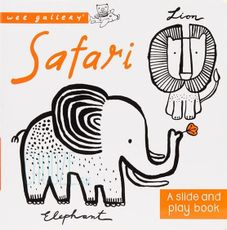 Slide and Play Board Book - Safari - Leporelo