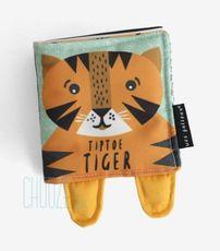 Soft Book TipToe Tiger - Textilná knižka