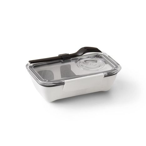 Black-Blum Obedár Bento Box White - Black