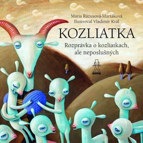 Kozliatka - Rozprávka o kozliatkach, ale neposlušných