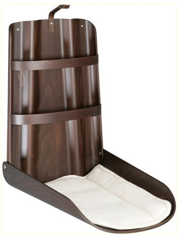 Prebaľovací pult byBO design Nathi - Orech