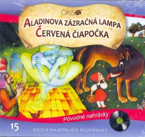 CD - Aladinova zázračná lampa + Červená čiapočka